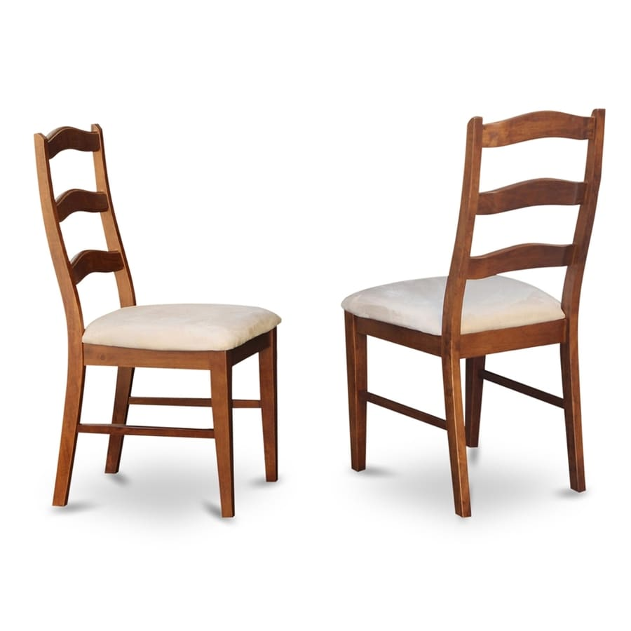 East West Furniture Set of 2 Henley Country Side Chairs