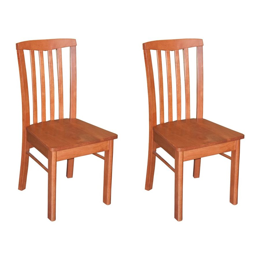 East West Furniture Set of 2 Hartland Side Chairs