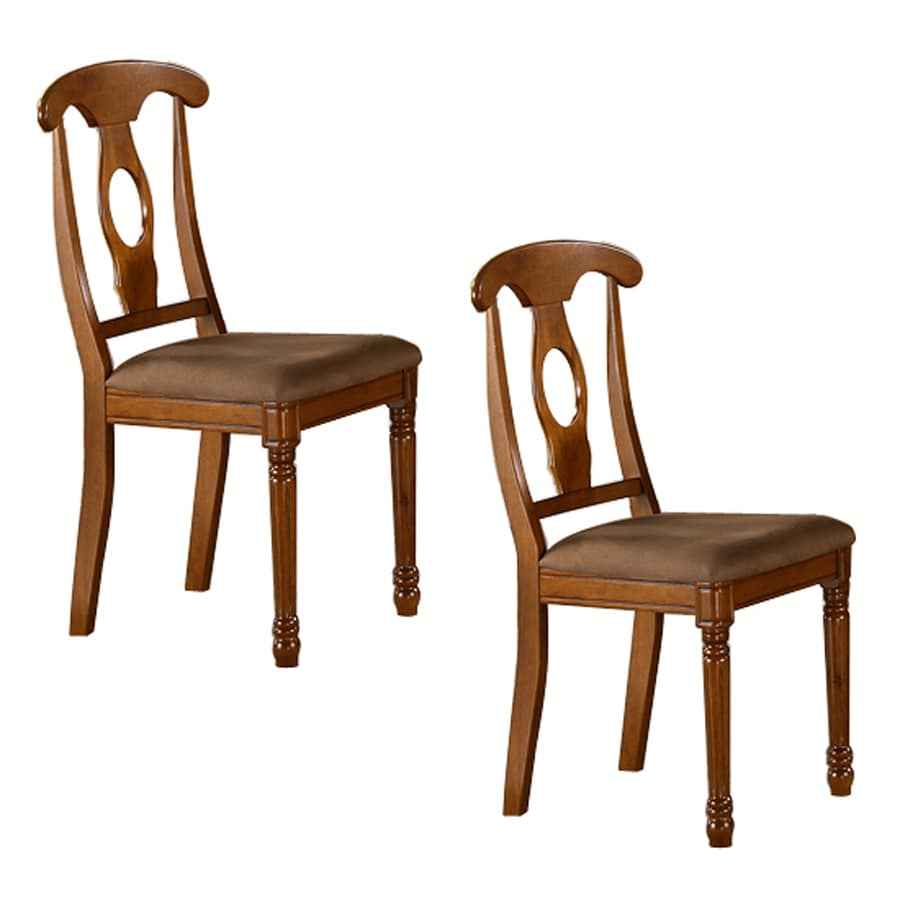 East West Furniture Set Of 2 Napoleon Country Side Chairs