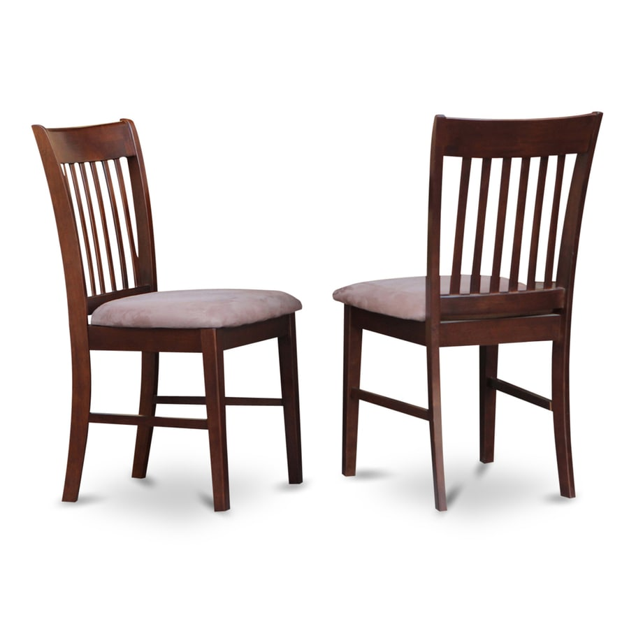 East West Furniture Set of 2 Norfolk Side Chairs