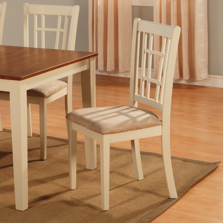 East West Furniture Set of 2 Nicoli Side Chairs