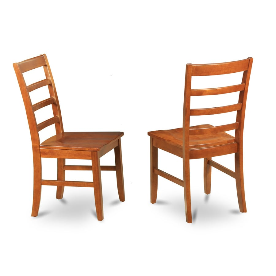 East West Furniture Set of 2 Parfait Country Side Chairs