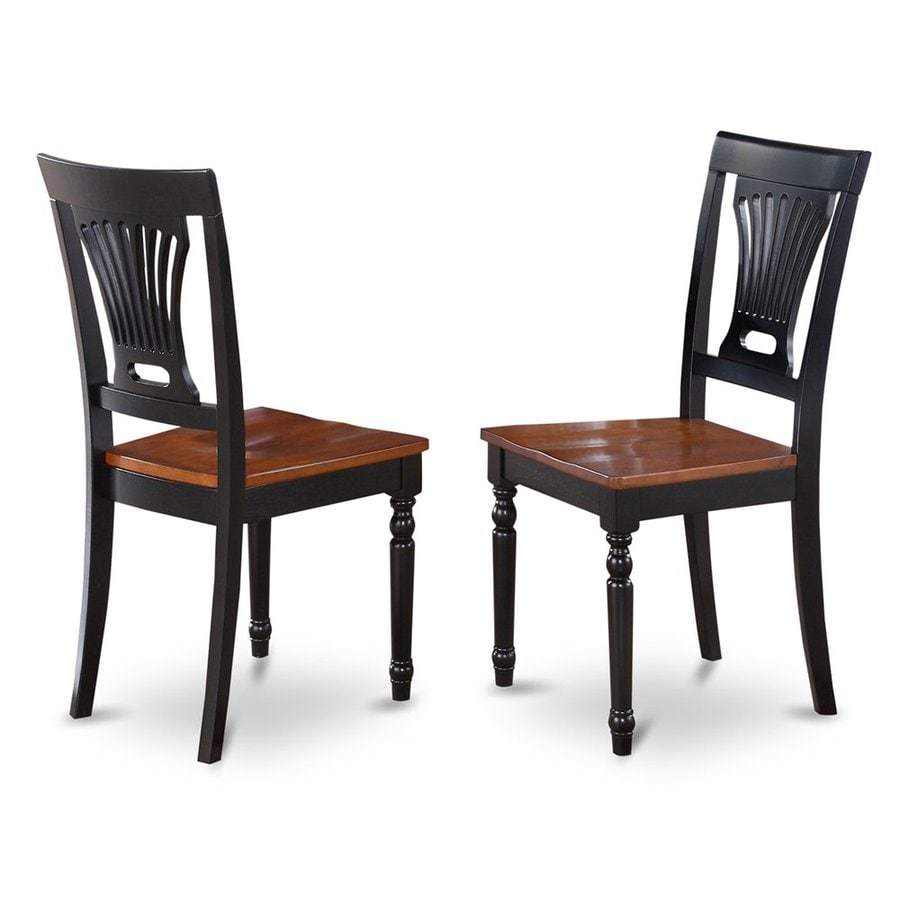 East West Furniture Set of 2 Plainville Side Chairs