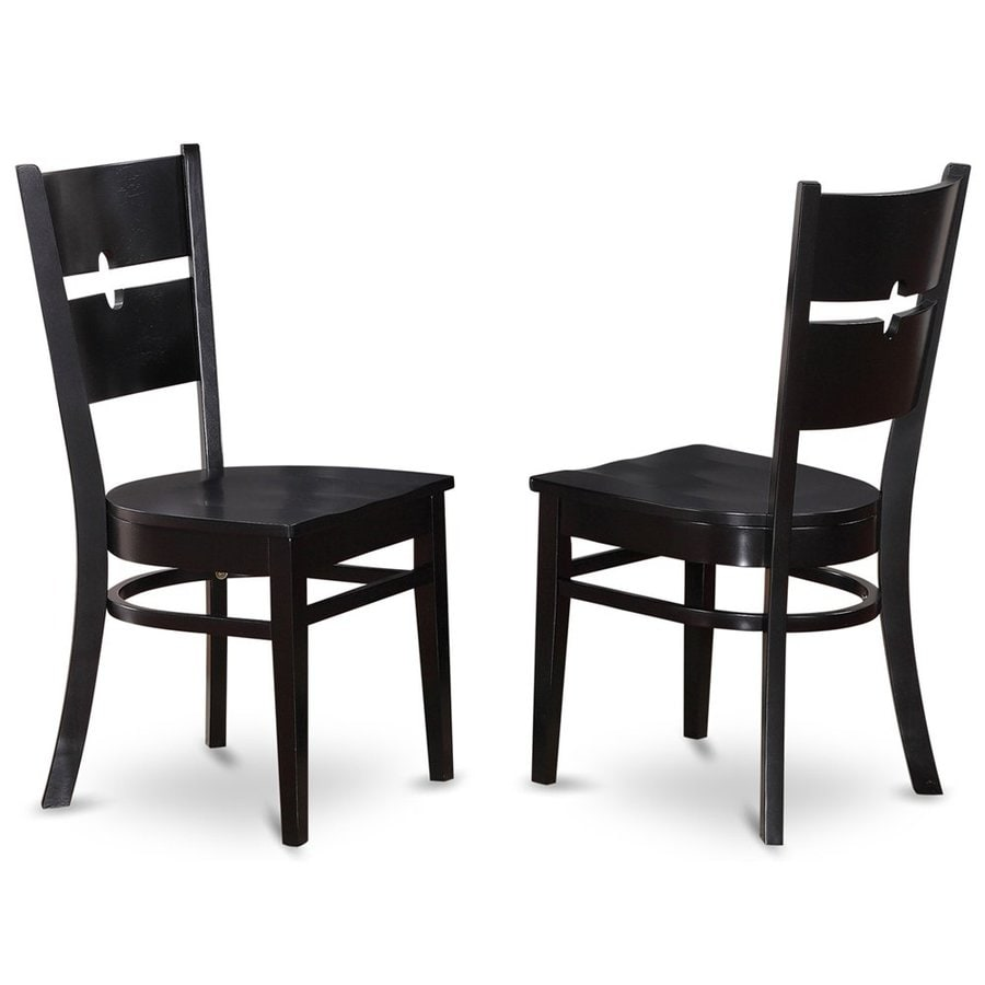 East West Furniture Set of 2 Shelton Casual Side Chairs