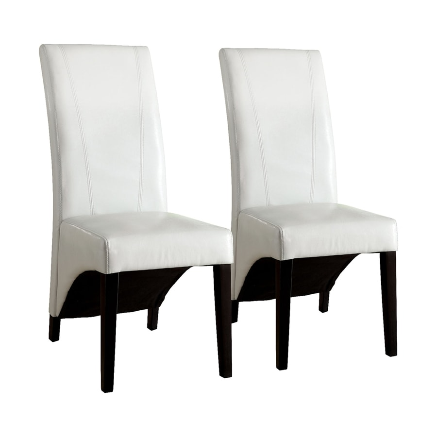 Furniture of America Set of 2 Madison Contemporary Side Chairs