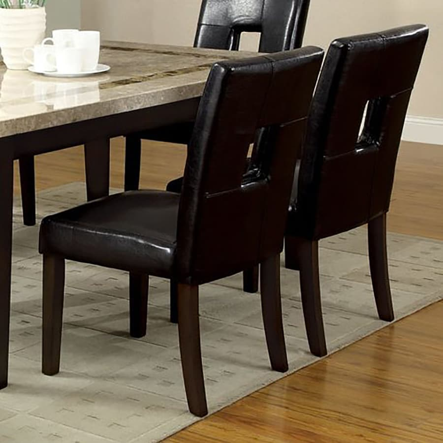 Furniture of America Set of 2 Lisbon Casual Side Chairs