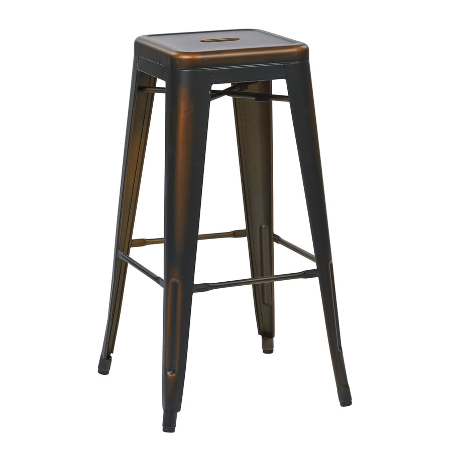 Office Star OSP Designs Bristow Antique Copper Counter Stool