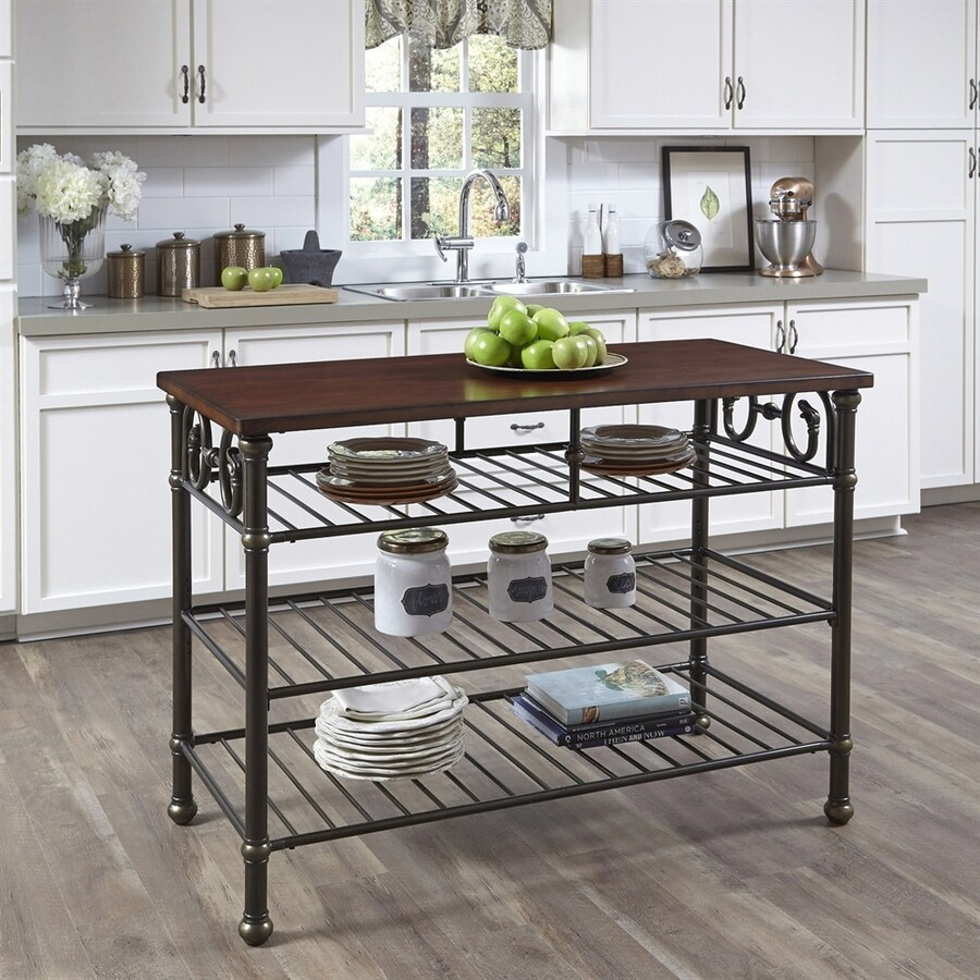 Home Styles Black Eclectic Prep Tables