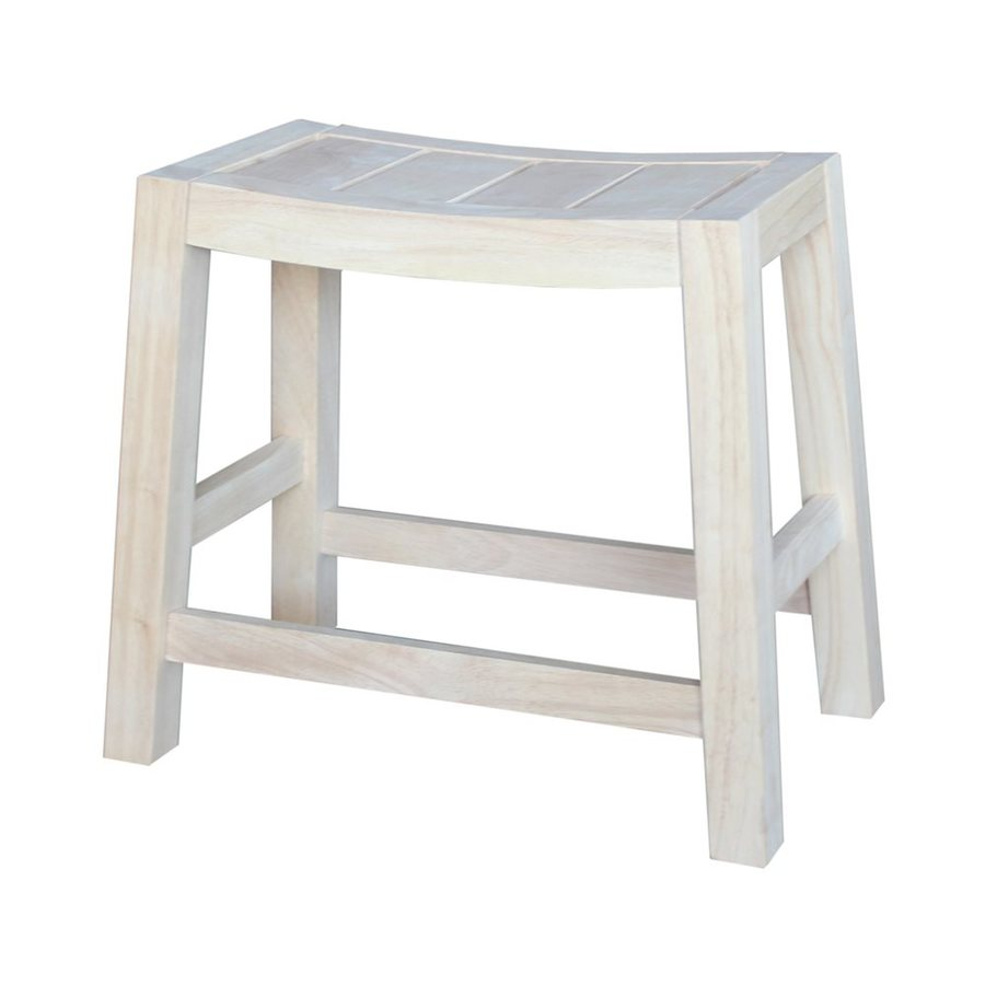 International Concepts Dining Essentials Light Natural Small Stool