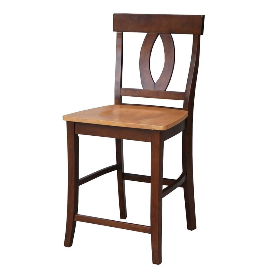 International Concepts Verona Espresso/Cherry Counter Stool