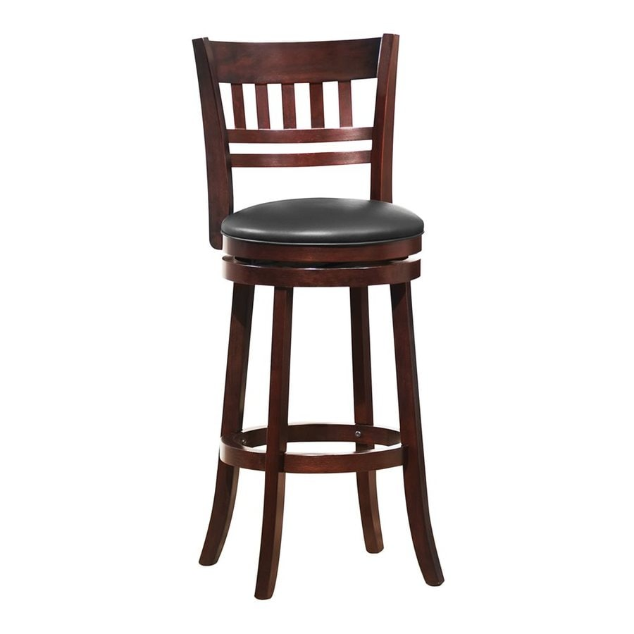 cherry bar stools. Homelegance Edmond Casual Dark Cherry Bar Stool Stools