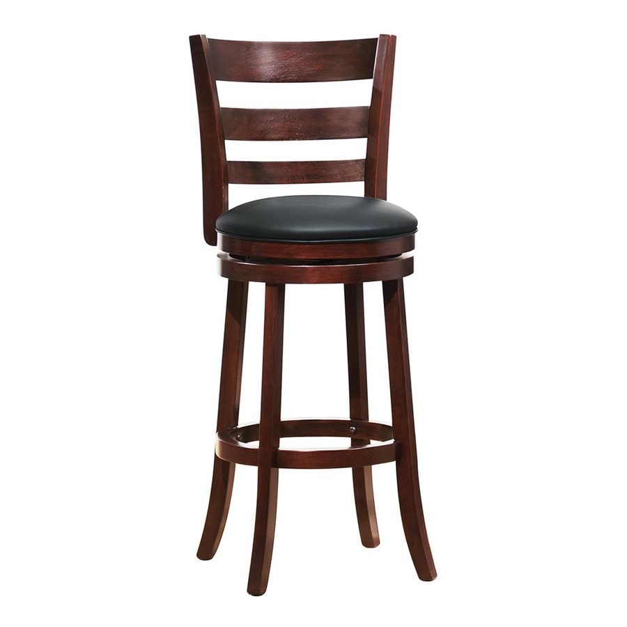Homelegance Edmond Dark Cherry Bar Stool