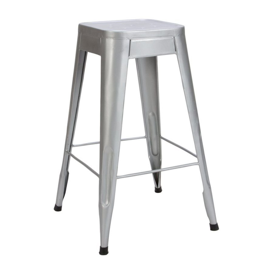 Homelegance Amara Silver Bar Stool