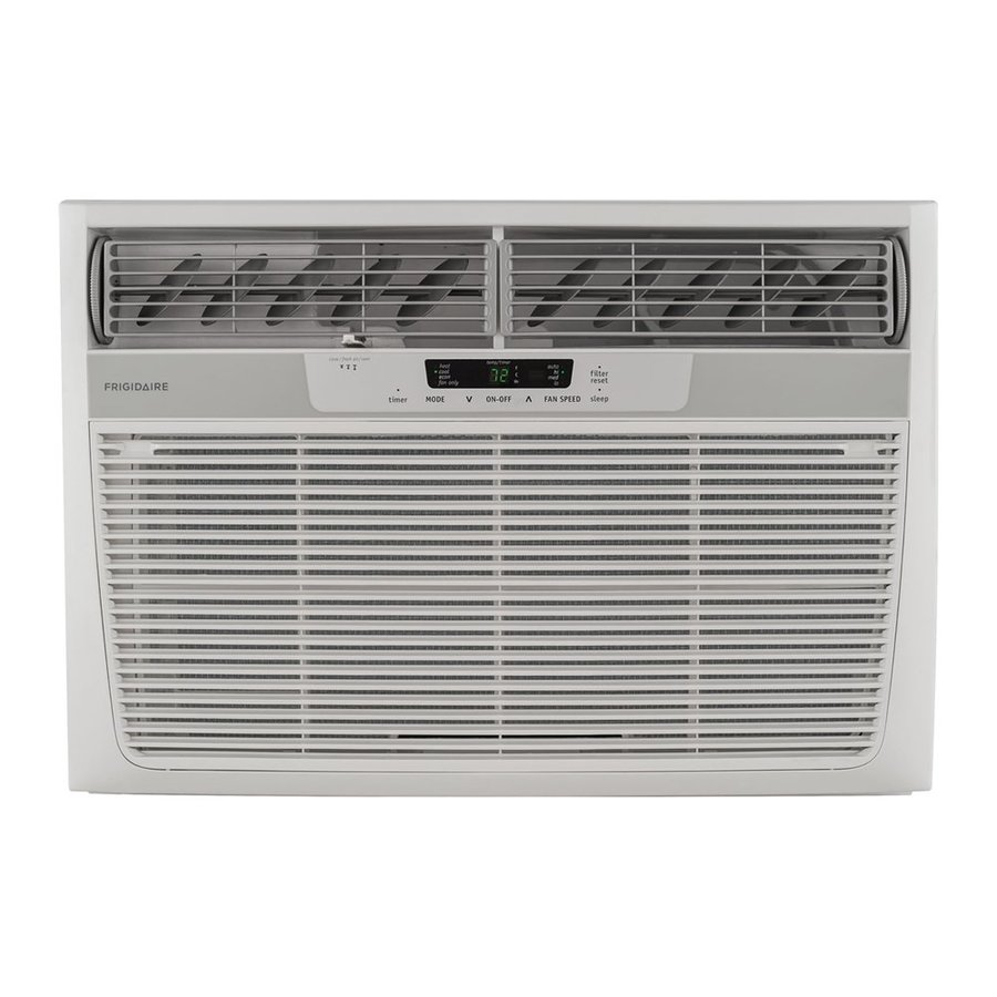 Frigidaire 25000-BTU 1600-sq ft 230-Volt Window Air Conditioner with Heater