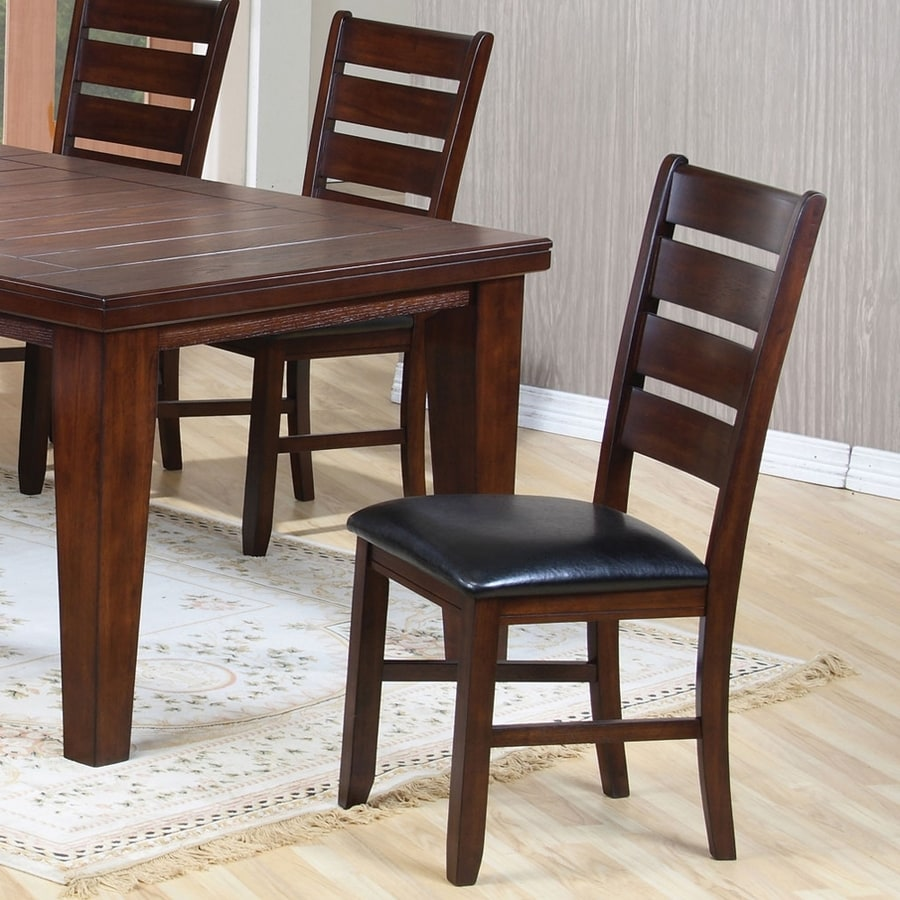 Coaster Fine Furniture Set of 2 Black Side Chairs