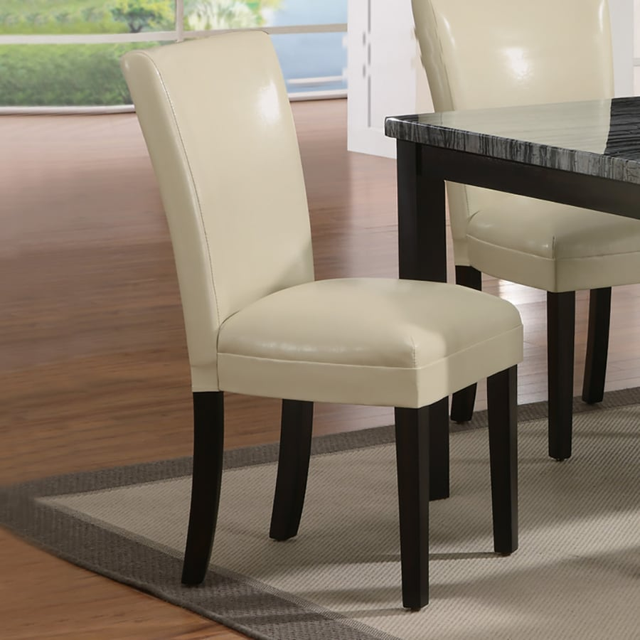 Coaster Fine Furniture Set of 2 Carter Cream Side Chairs