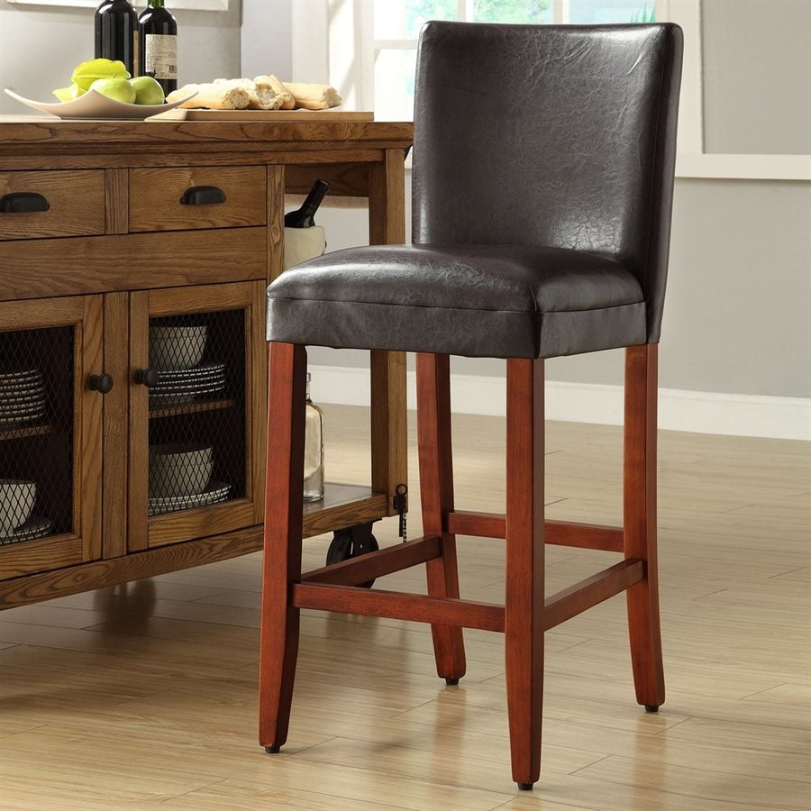 4D Concepts Deluxe Brown Bar Stool