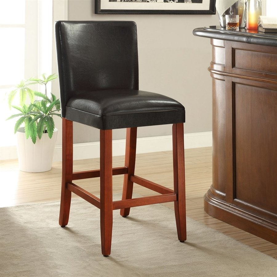 4D Concepts Deluxe Black Bar Stool