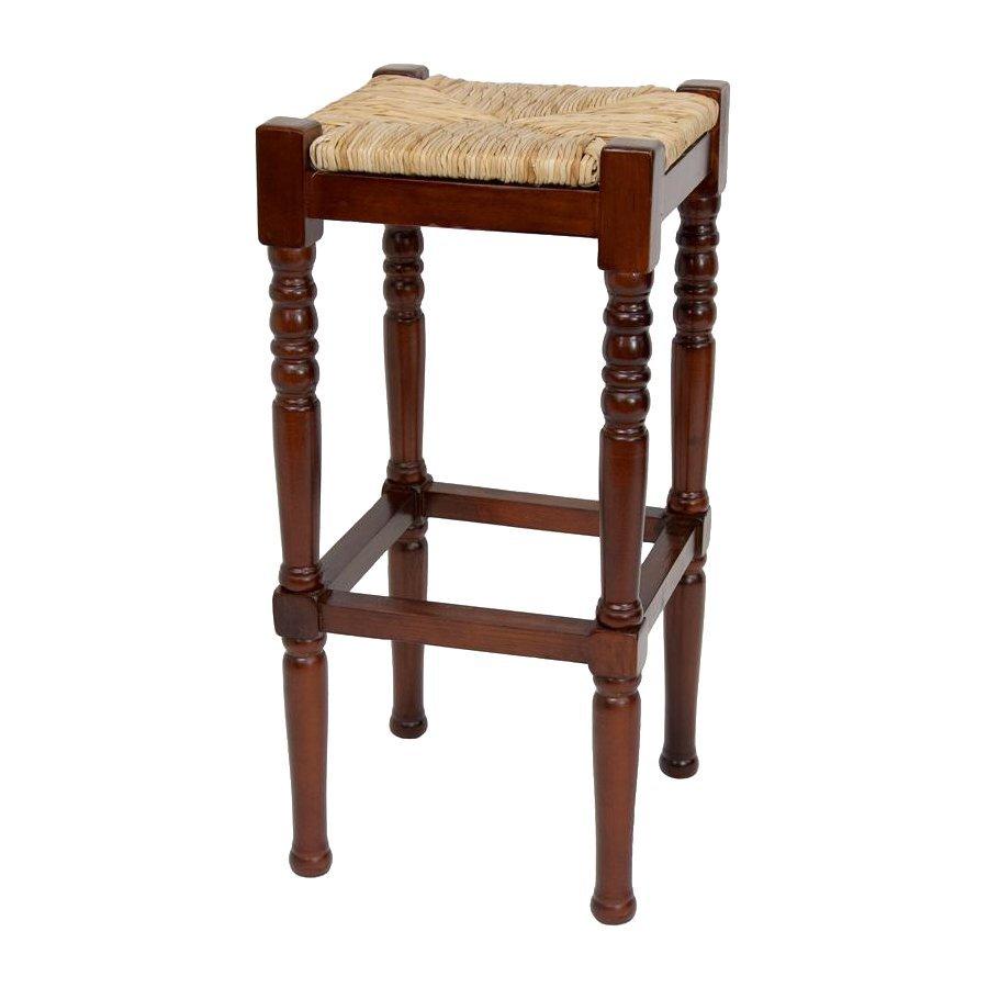 Oriental Furniture Cherry Bar Stool
