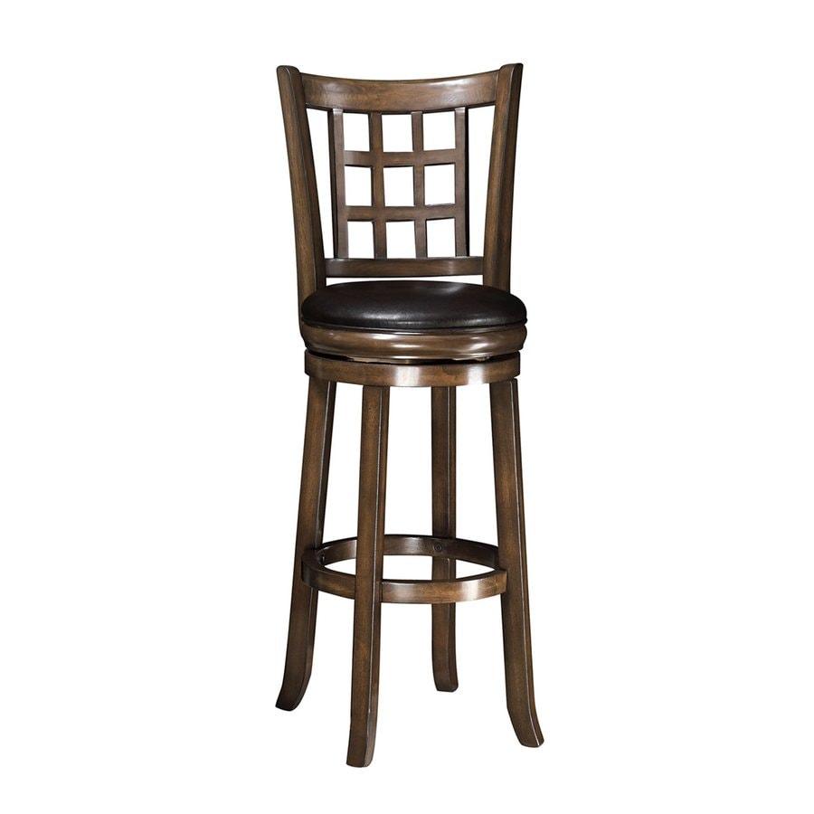 Coaster Fine Furniture Brown/Black Bar Stool