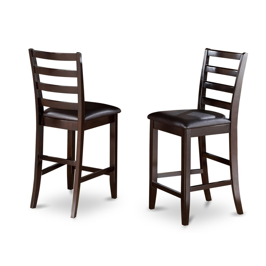 East West Furniture Fairwinds Cappuccino Counter Stool
