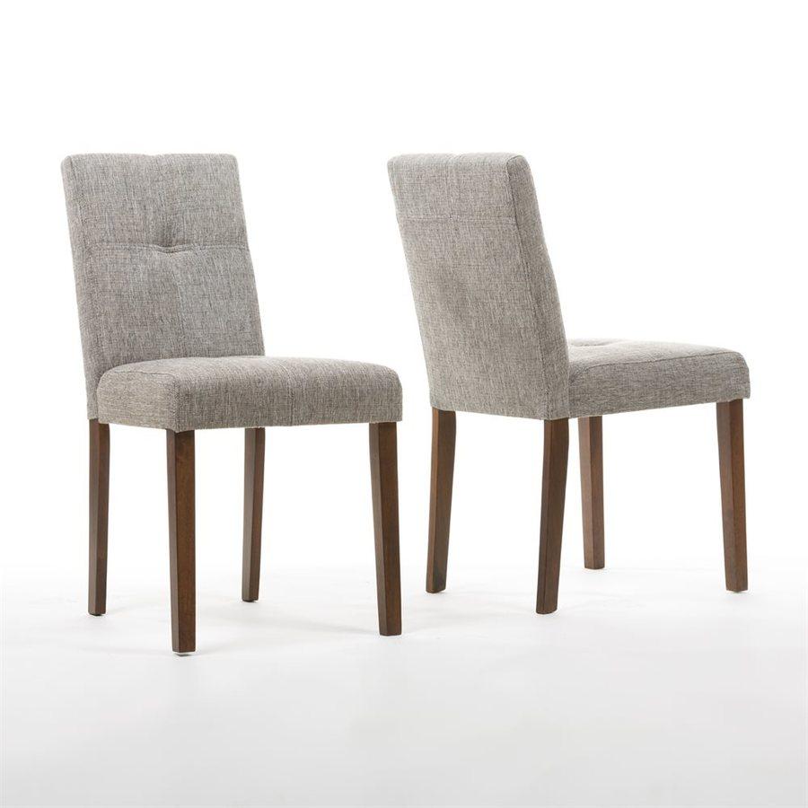 Baxton Studio Set of 2 Elsa Side Chairs