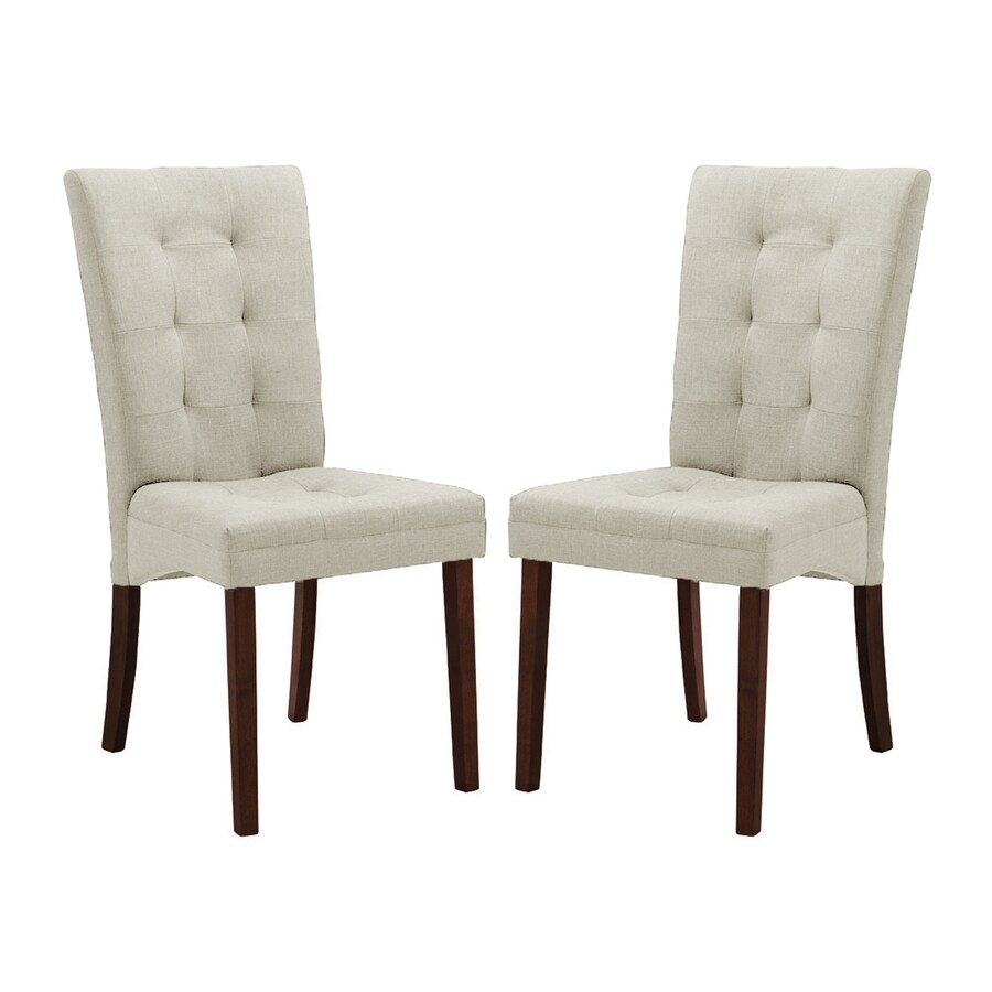 Baxton Studio Set of 2 Anne Side Chairs