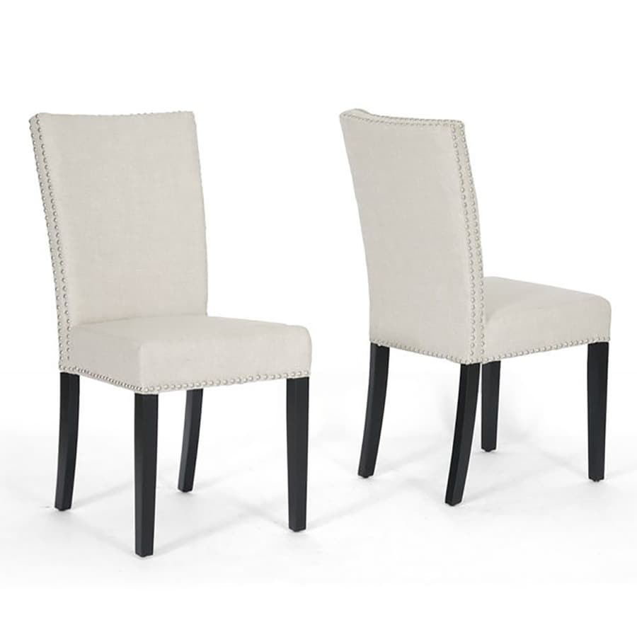 Baxton Studio Set of 2 Harrowgate Side Chairs