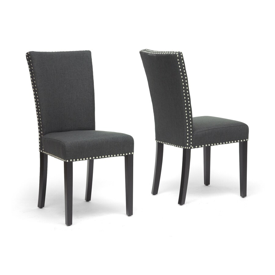 Baxton Studio Set of 2 Harrowgate Side Chairs