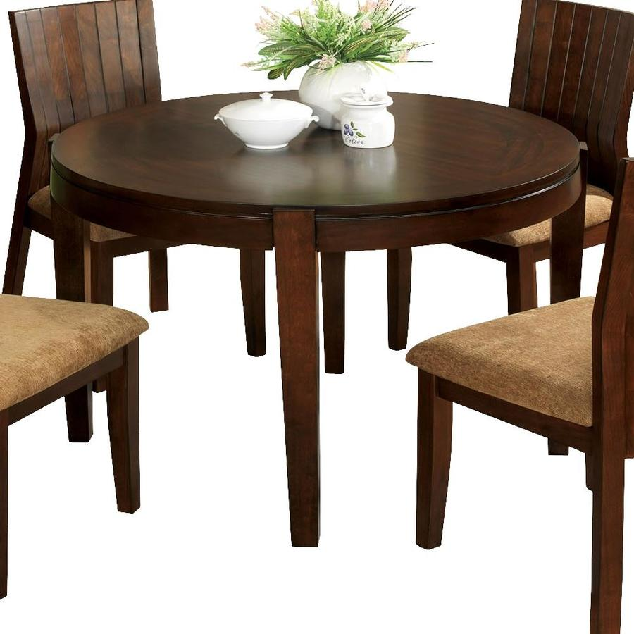 Furniture of America Ottawa Round Dining Table