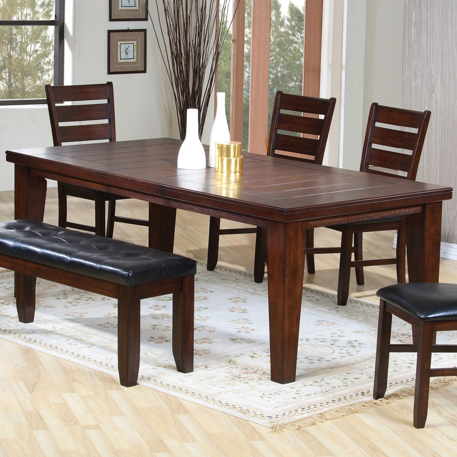 Coaster Fine Furniture Imperial Extending Dining Table At Lowes Com