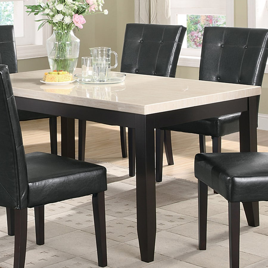 Coaster Fine Furniture Anisa Faux Marble Dining Table