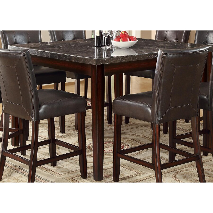 Coaster Fine Furniture Milton Marble Counter Table