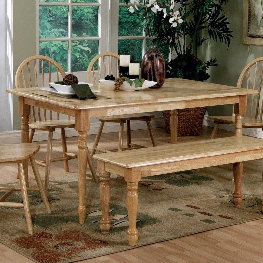 Coaster Fine Furniture Benson Wood Dining Table