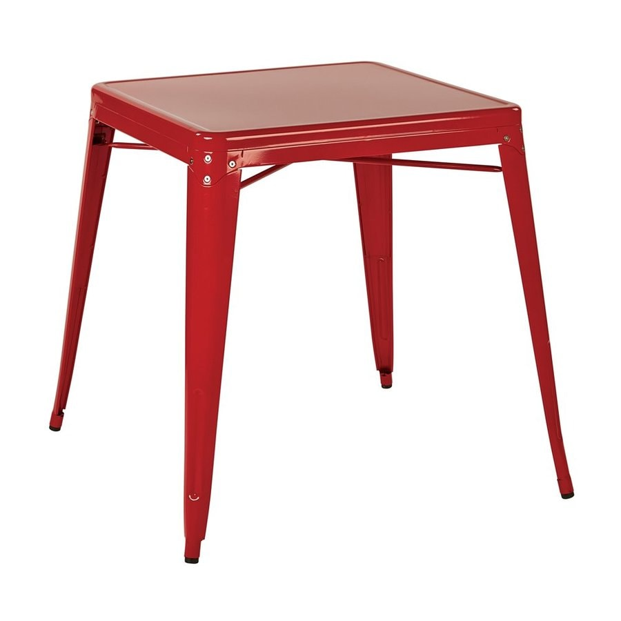 Office Star Patterson Steel Dining Table