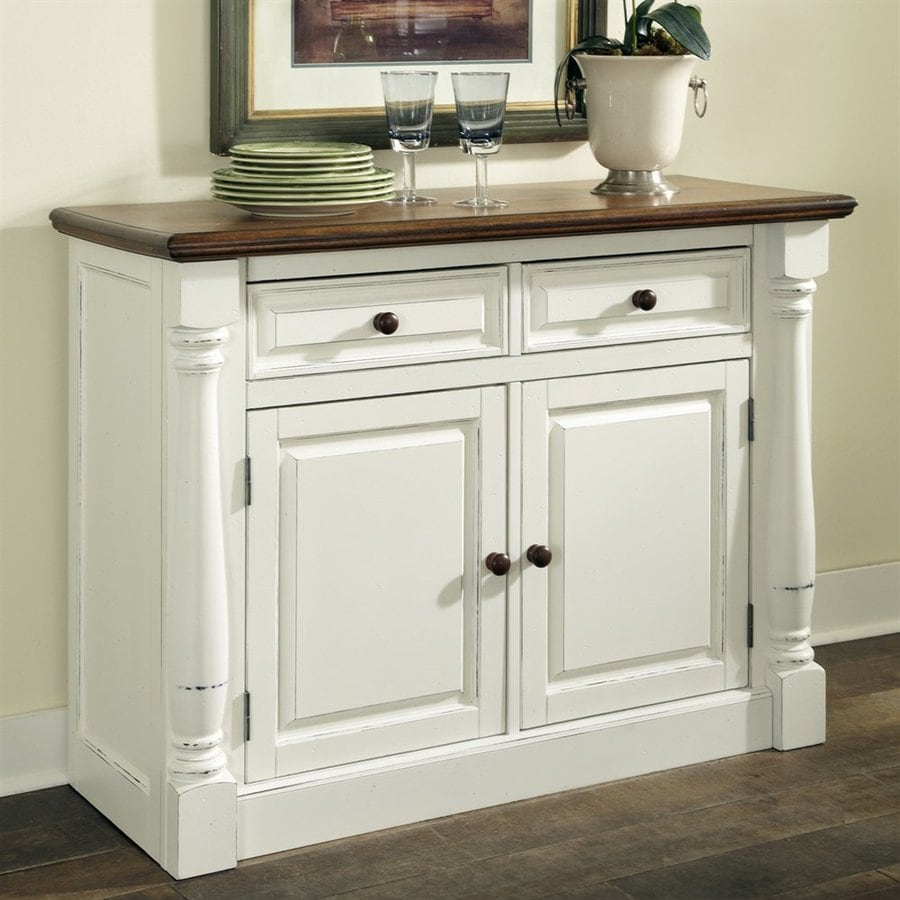 Home Styles Monarch Oak/White Sideboard At Lowes.com