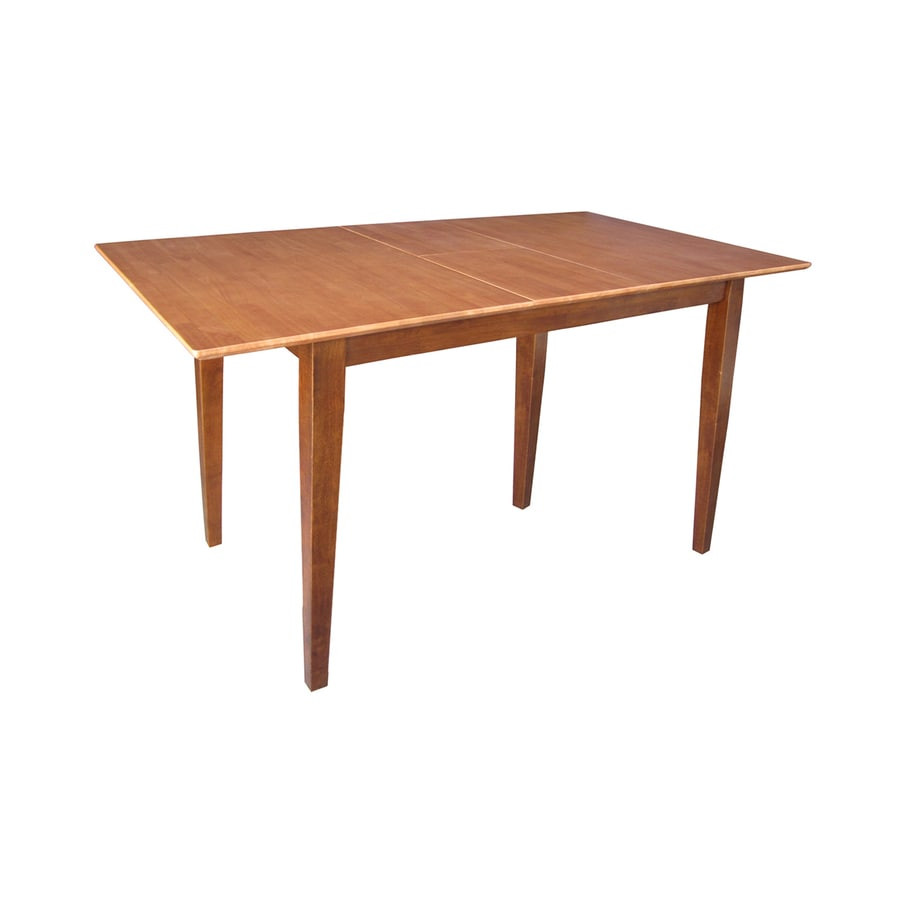 International Concepts Wood Extending Counter Table