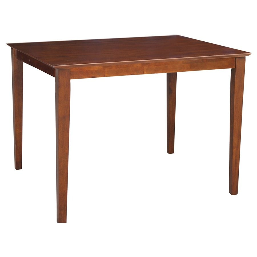 International Concepts Wood Counter Table