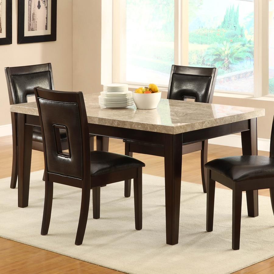 Homelegance Hahn Marble Dining Table
