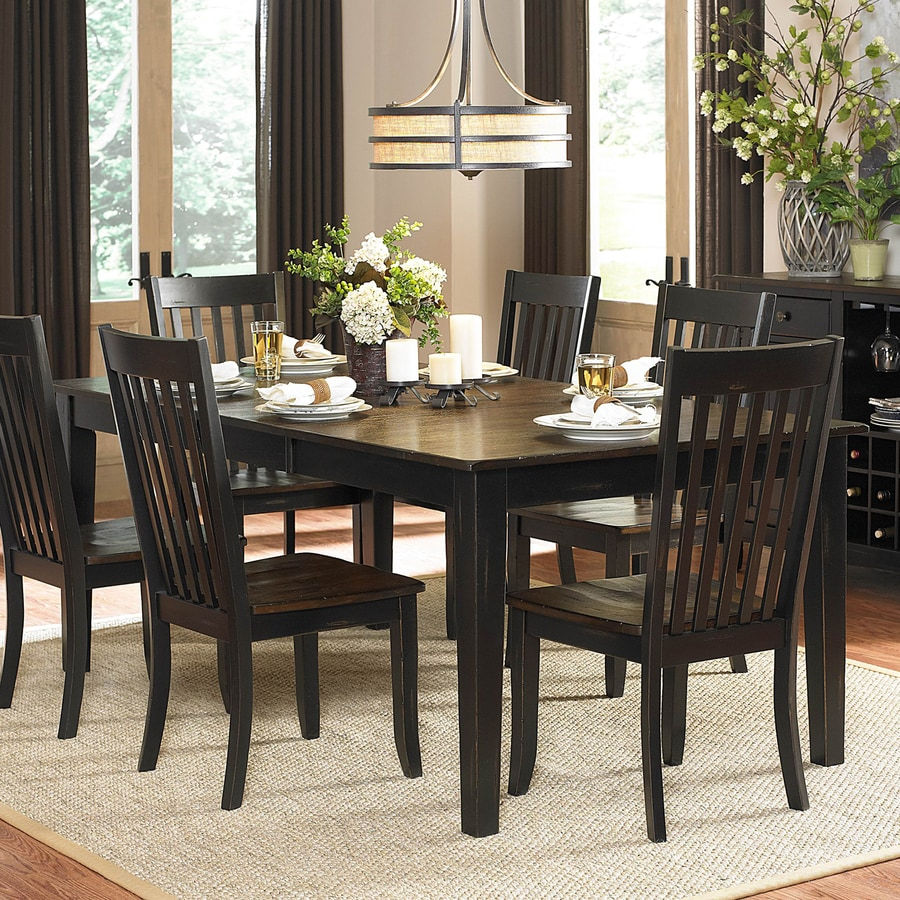 Homelegance Three Falls Wood Extending Dining Table