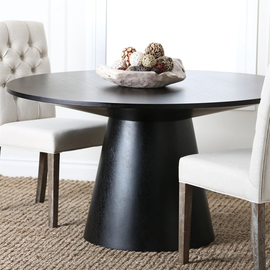 Pacific Loft Enna Wood Round Dining Table