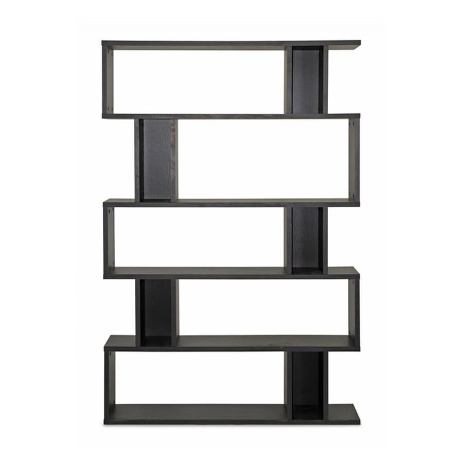 Baxton Studio Goodwin Espresso 5-Shelf Bookcase