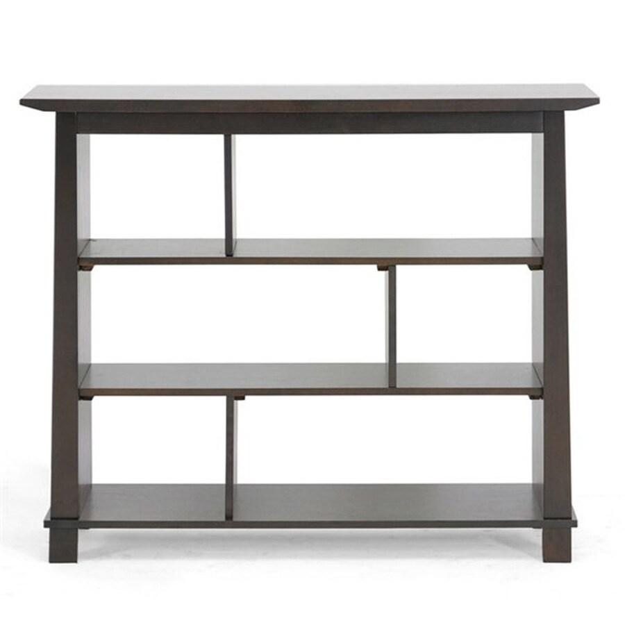 Baxton Studio Havana Wenge 6-Shelf Bookcase
