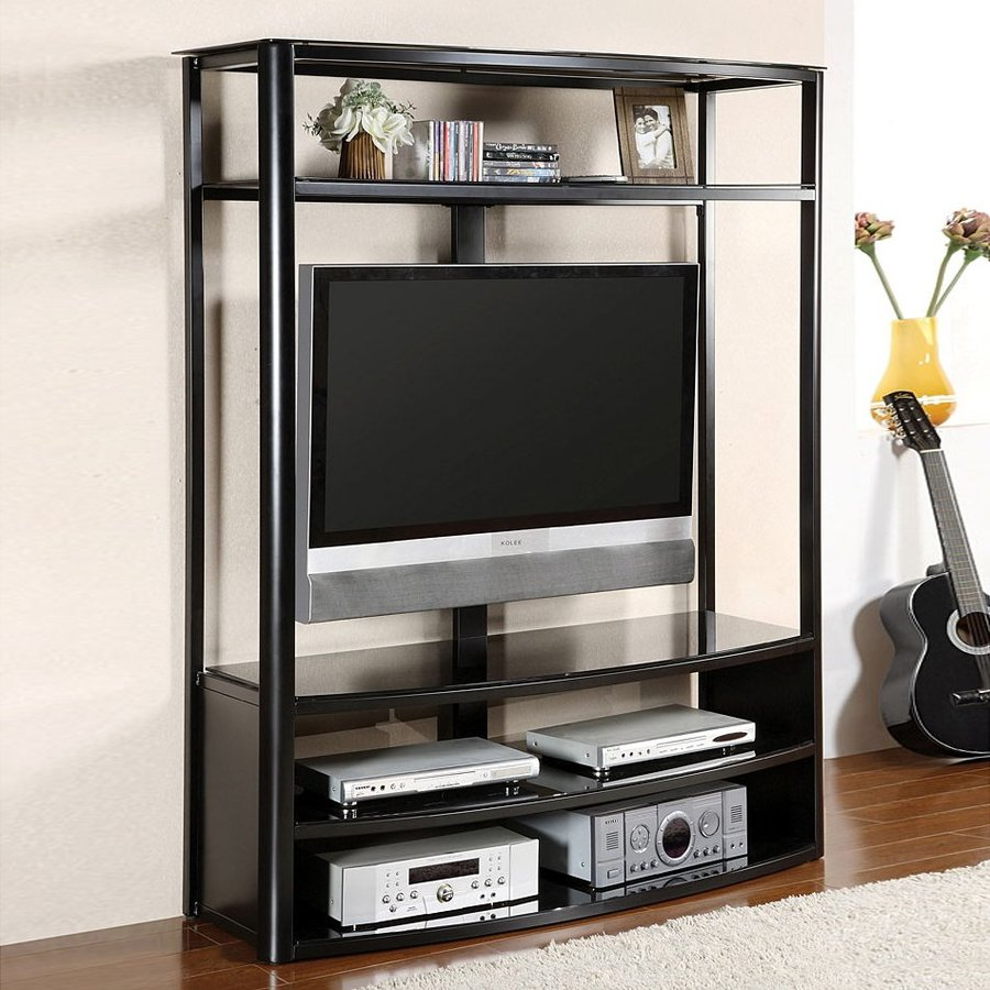 Furniture of America Faron Black Universal TV Stand