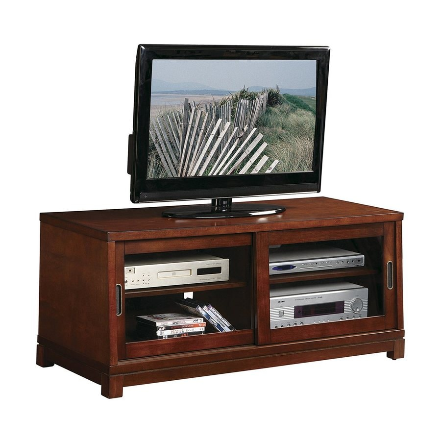 Office Star OSP Designs Brown Universal TV Stand