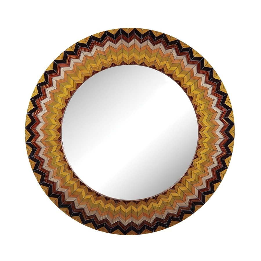 Dimond Home Earth Framed Round Wall Mirror