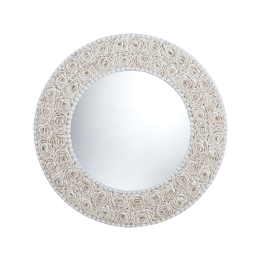Dimond Home Natural Framed Round Wall Mirror