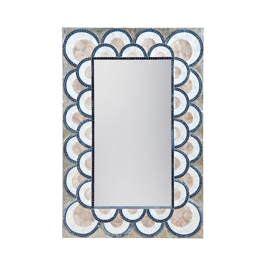 Dimond Home Navy Blue Framed Wall Mirror