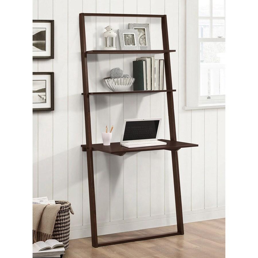 4D Concepts Arlington Dark Cappuccino 3-Shelf Bookcase