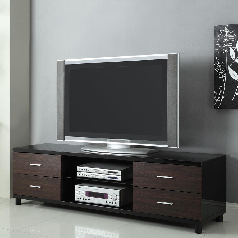 Coaster Fine Furniture High Gloss Black Universal TV Stand